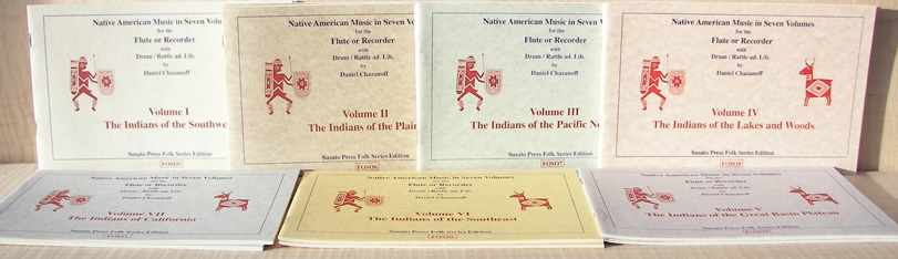 Sheet Music for Native American Flutes