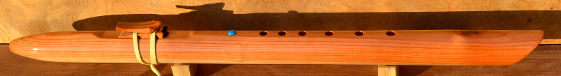 F#m Redwood Flute With Knot