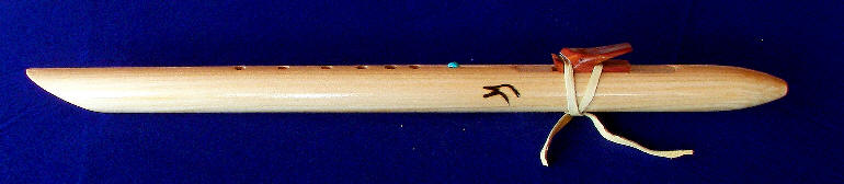 Western Red Cedar Native American Flute